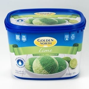Golden North Lime Ice Cream - Golden North